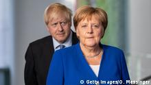 Berlin | Boris Johnson und Angela Merkel