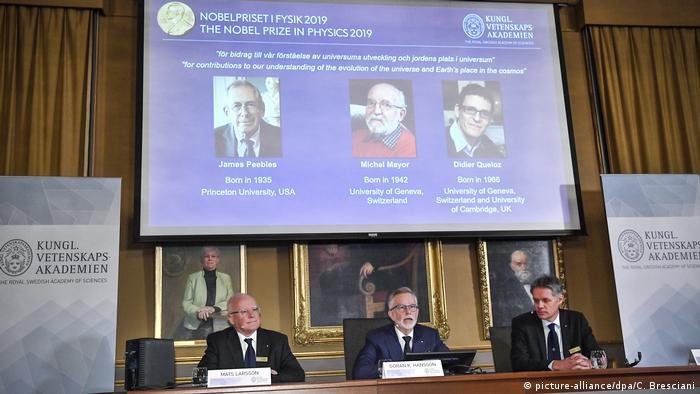 Schweden Physik Nobelpreisträger (picture-alliance/dpa/C. Bresciani)