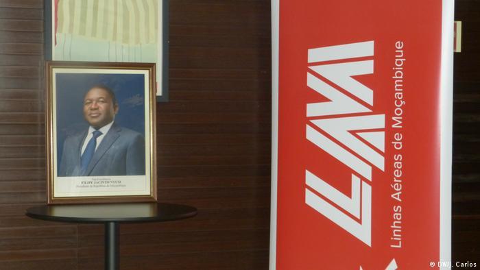 Mosambik Fluggesellschaft LAM (DW/J. Carlos)