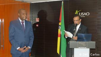 Mosambik Joaquim Bule und Joao Po Jorge (DW/J. Carlos)