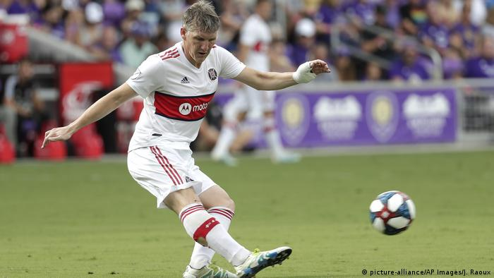 USA Fußball Chicago Fire Bastian Schweinsteiger (picture-alliance/AP Images/J. Raoux)