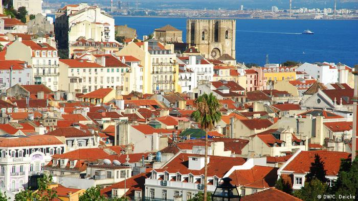 A view of Lisbon, Portugal (DW/C. Deicke)