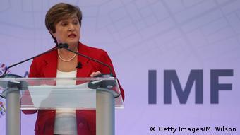 USA Washington | Internationaler Währungsfonds | Kristalina Georgiewa, Direktorin (Getty Images/M. Wilson)