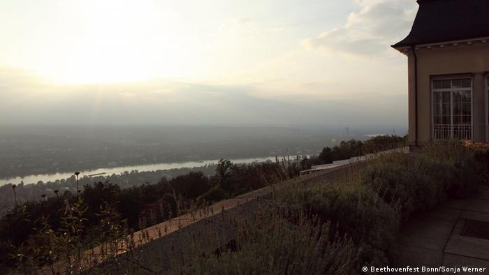 View from the Petersberg of the valley below (Beethovenfest Bonn/Sonja Werner)