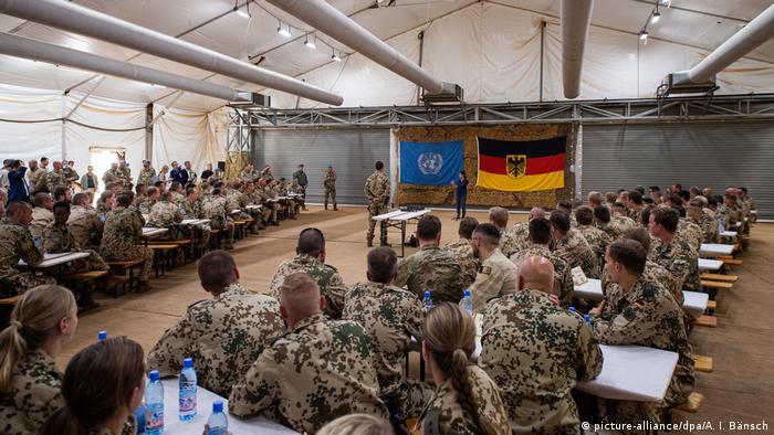 Bundeswehrsoldaten in Camp Castor der Stabilisierungsmission MINUSMA