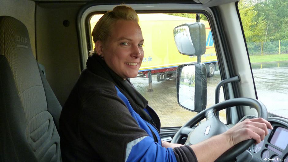 работа девушка водитель