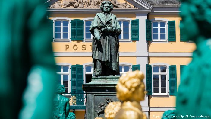 Beethoven antique print Germany 1845