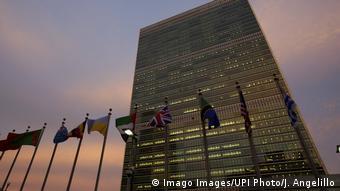 USA UN Hauptquartier in New York (Imago Images/UPI Photo/J. Angelillo)