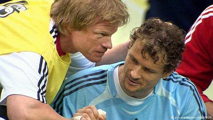 Oliver Kahn und Jens Lehmann (picture-alliance/dpa/WDR)