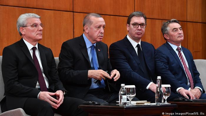 Serbien Belgrad trilaterales Treffen mit Erdogan (Imago Images/Pixsell/S. Ilic)