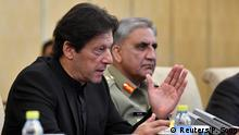 Pakistani PM Khan and army chief Bajwa