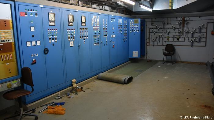Herman-Johan je preuzeo i kompletnu unutrašnju infrastruklturu u bunkeru njemačke vojske