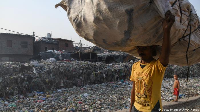 Indien: Umweltbelastung und Luftverschmutzung in Neu-Delhi