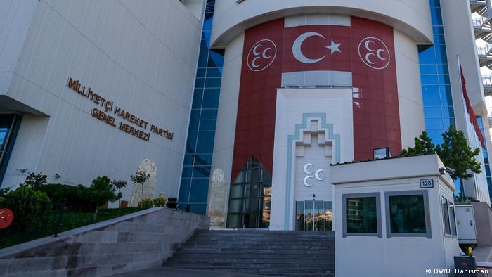 MHP'nin Ankara'daki genel merkez binası