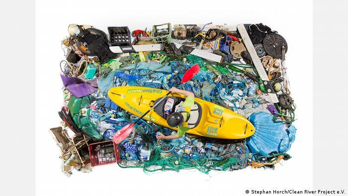 Kunst aus Plastikmüll - Clean River Project e.V.
