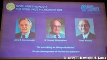 Schweden Stockholm Nobelpreis Chemie 2019