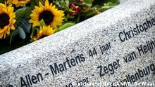Niederlande Denkmal für MH17 Absturzopfer