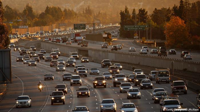 USA, Umweltbelastung und Luftverschmutzung in Los Angeles