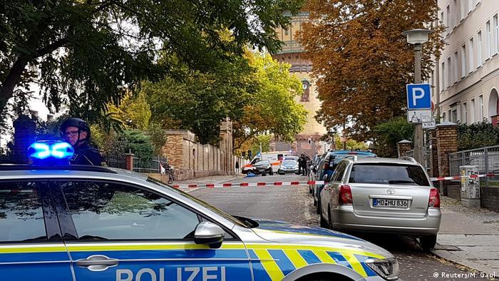 50753515 303 - Ataque perto de sinagoga na Alemanha deixa dois mortos