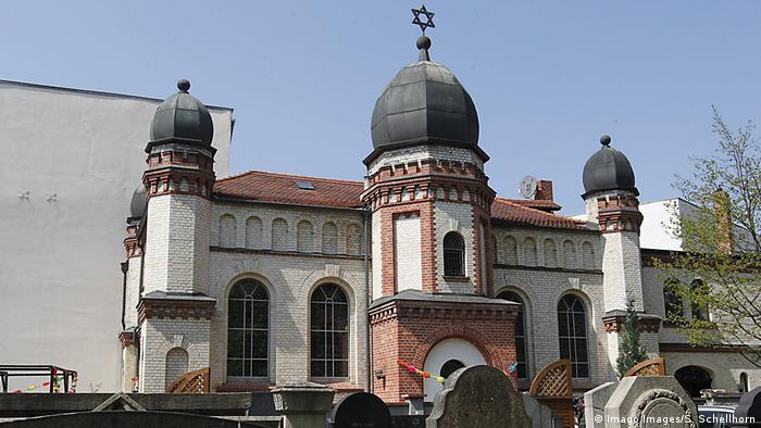 Deutschland Synagoge in Halle (Imago Images/S. Schellhorn)