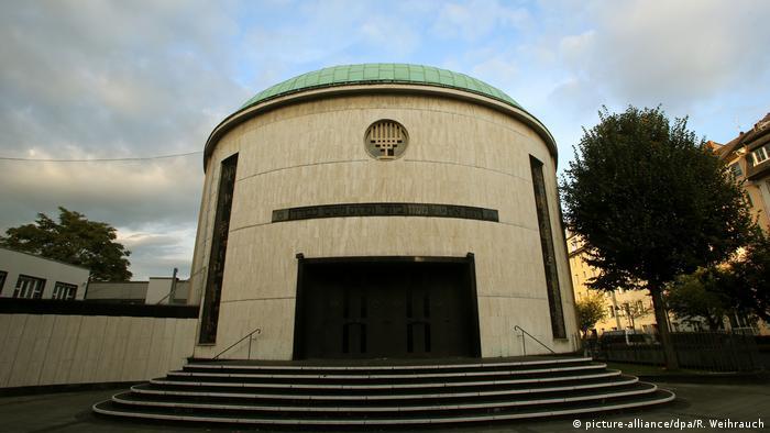 Neue Düsseldorfer Synagoge in Düsseldorf, Germany (picture-alliance/dpa/R. Weihrauch)