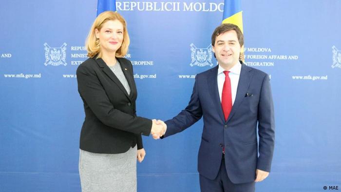 Nicu Popescu Ramona Manescu Chişinău