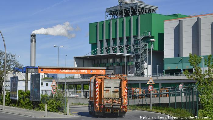 Spalionica smeća i termoelektrana BSR, Spandau, Berlin (picture-alliance/Bildagentur-online/Schoening)
