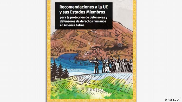 Vorstellung des Berichts über Menschenrechtverteidiger in Lateinamerika, Brüssel,