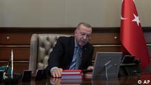 Türkische Militäroffensive in Nordsyrien | Präsident Recep Tayyip Erdogan