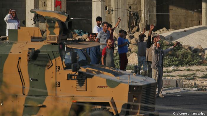Militäroffensive der Türkei in Nordsyrien (picture alliance/dpa)
