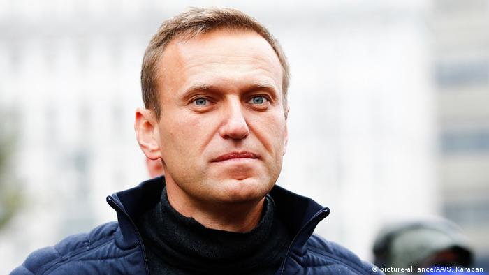 Russland Kundgebung zur Unterstützung von politischen Gefangenen | Alexey Nawalny (picture-alliance/AA/S. Karacan )