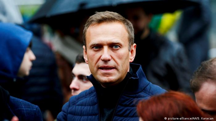 Líder oposicionista russo Alexei Navalny