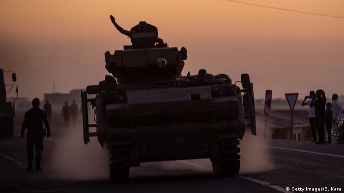 Militäroffensive der Türkei in Nordsyrien (Getty Images/B. Kara)