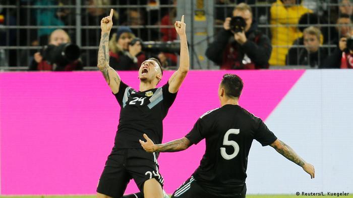 Fußball Freundschaftsspiel | Deutschland vs Argentinien (Reuters/L. Kuegeler )