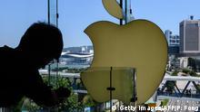 Hongkong Apple-Store | Mann & Smartphone