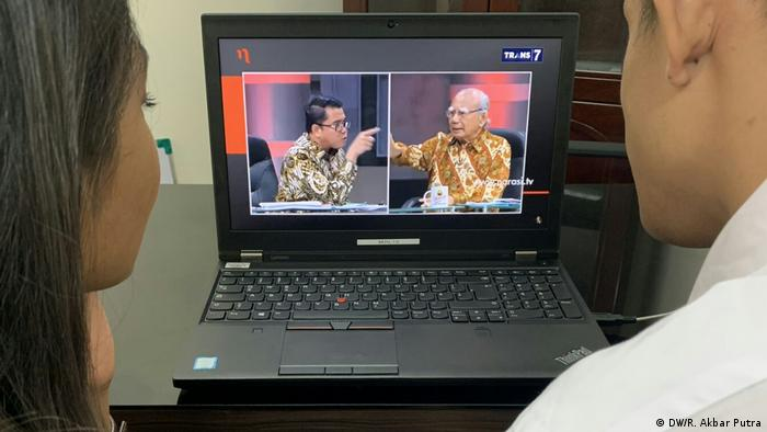 Live streaming (DW/R. Akbar Putra)