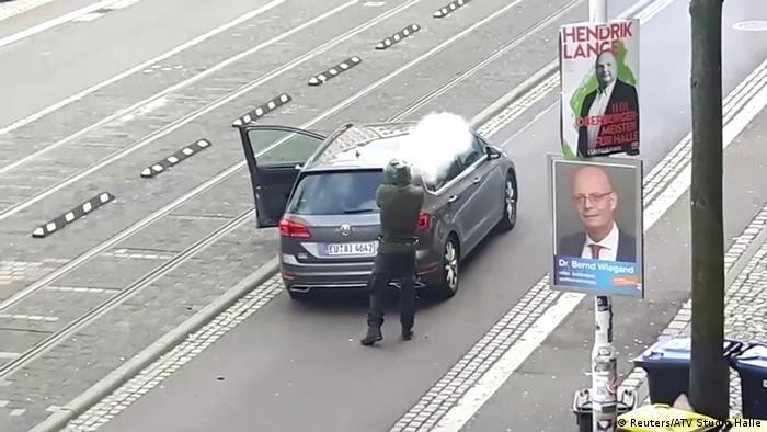Zamach w Halle: napastnik udokumentował plany zamachu i motyw działania