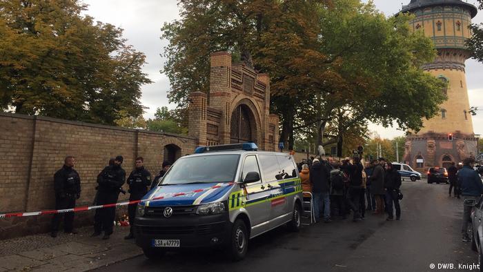 Місце нападу на синагогу в німецькому місті Галле
