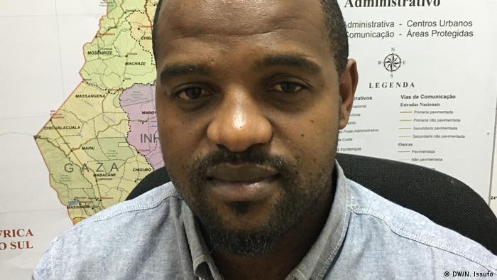 Osman Cossing Wahlbeobachtung in Mosambik