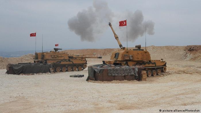 Syrien Militäroffensive der Türkei im Norden