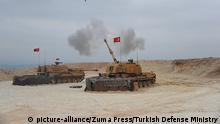 Syrien Konflikt Grenze Türkei | Türkischer Panzer