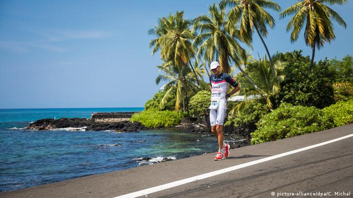 Hawai Ironman 2017 Jan Frodeno (picture-alliance/dpa/C. Michal)