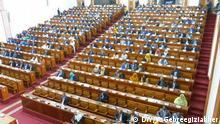 Titel: Ethiopian parliament, house of people representative, 10.10.2019 Foto by: Yohannes Gebreegiziabher, DW Amharic correspondent. Schlagwörter: Ethiopian parliament, house of people representative, Ethiopia, Äthiopien, 2019