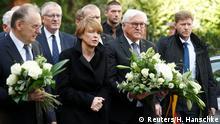 Deutschland Halle nach Anschlag auf Synagoge   Frank-Walter Steinmeier, Bundespräsident