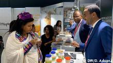 Äthiopische Aussteller auf Anuga Messe in Köln Bildbeschreibung: Äthiopische Aussteller auf Anuga Messe in Köln Datum: 09.10.18 Bildrechte: D. Adugna