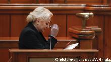 Misstrauensantrag gegen Rumäniens Regierung Viorica Dancila