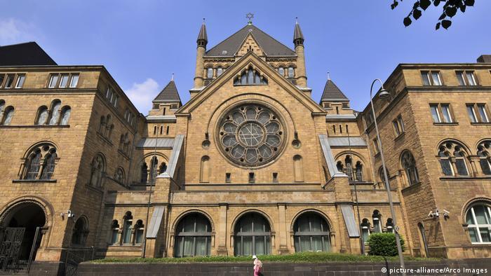 Synagoge in Köln Archivbild