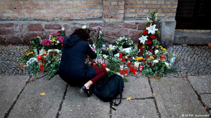 Halle Saale Trauer nach Angriff auf Synagoge