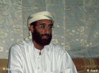 An image provided by IntelCenter on 30 December 2009 shows a US-born Yemeni cleric Anwar al-Awlaki, who had preached from a mosque in Northern Virginia before moving to Yemen in 2002. US counter-terrorism agencies are investigating whether the US-born Islamic cleric who has risen to become a key figure in the Al Qaeda affiliate in Yemen played a role in the attempted Christmas Day airplane bombing over Detroit, intelligence and law enforcement officials said on 30 December 2009. Some of the information about Awlaki comes from Abdulmutallab, the 23-year-old Nigerian charged with attempting to detonate a hidden packet of PETN explosive aboard a Northwest Airlines flight from Amsterdam to Detroit on Christmas Day, the officials said. EPA/HO BEST QUALITY AVAILABLE - MANDATORY CREDIT INTELCENTER NO SALES NO ARCHIVES EDITORIAL USE ONLY/NO SALES +++(c) dpa - Bildfunk+++