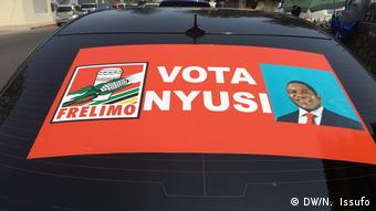 Wahlkampagne FRELIMO (DW/N. Issufo)